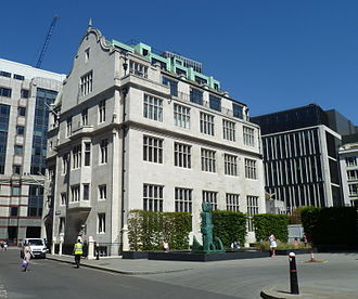 Chartered Insurance Institute - The Chartered Insurance Institute at Aldermanbury, London.