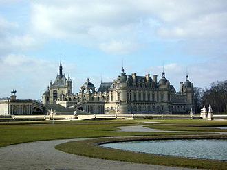 Musée Condé - The château de Chantilly.