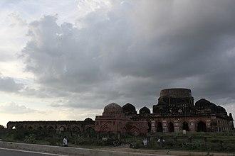 Kalpi - South facing view of Chaurasi Gumbad