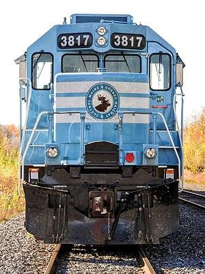 Central Maine and Quebec Railway - Locomotive