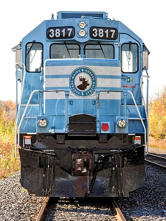 Central Maine and Quebec Railway - Locomotive