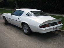 T Top Camaro >> Chevrolet Camaro – Wikipedia