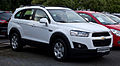 Chevrolet Captiva LT 2.2 D 2WD Travel Edition (Facelift) – Frontansicht, 10. September 2012, Velbert.jpg