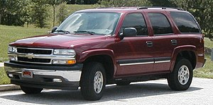 2000-2006 Chevrolet Tahoe GMT800 photographed ...