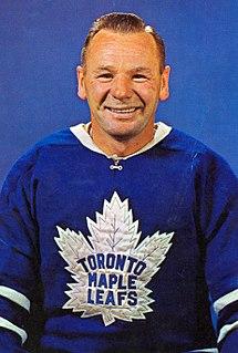 Johnny Bower Canadian ice hockey player