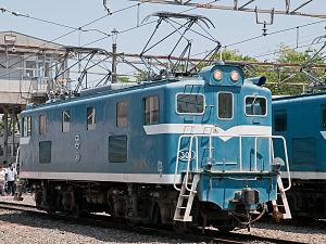 秩父鉄道デキ300形電気機関車's relation image