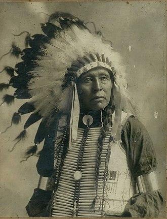 Flying Hawk - Chief Flying Hawk, Čhetáŋ Kiŋyáŋ.