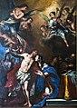 Chiesa di San Lorenzo a Vicenza - Interno - Cappella maggiore - Gesù risorto appare a Maria di Francesco Pittoni.jpg