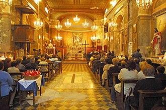Montopoli di Sabina - Image: Chiesa di San Michele a Montopoli di Sabina