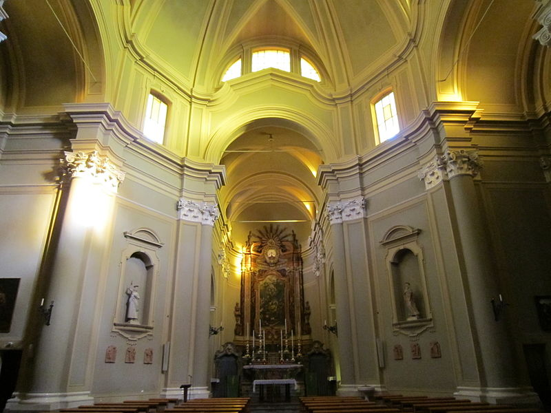 File chiesa di sant 39 antonio abate in ravaldino interno for Arredo bimbo sant antonio abate