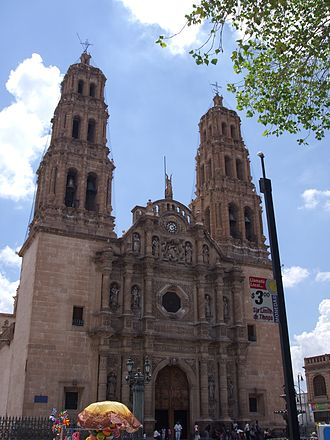 Cathedral of Chihuahua - The cathedral during daytime