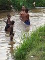 Children Play in River - Kigali - Rwanda - 01.jpg