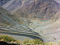 Chile - twisting switchbacks at the border crossing (6980540449).jpg