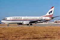 China Southwest Airlines Boeing 737-300 JetPix.jpg