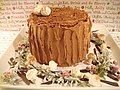 Chocolate Stump de Noel with meringue mushrooms (2).jpg