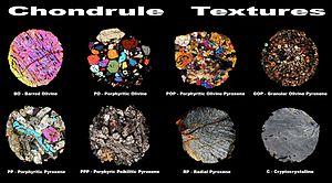 Chondrule - Chondrule Textures