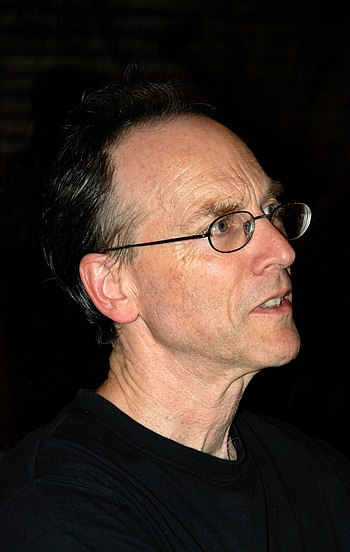 English: Chris Cutler at the Hyperion Ensemble...