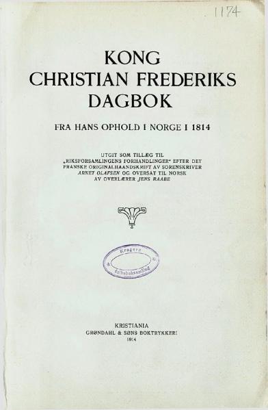 File:Christian Frederiks Dagbok.djvu