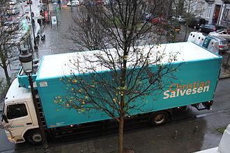 Christian Salvesen - A Christian Salvesen lorry in 2009