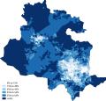 Christianity Bradford 2011 census.png