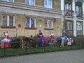 Christmas decoration outdoor in Bielany, Warsawa.jpg