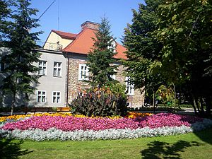 Chrzanów - The building of Chrzanów Museum.