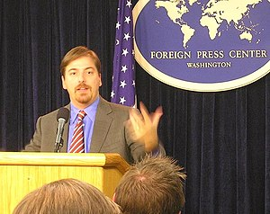 Chuck Todd, writer for National Journal and ed...