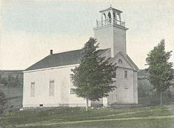 Deering Community Church, built 1829