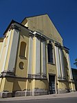 Church Gallery in Trinitárius Street, Eger, 2016 Hungary.jpg