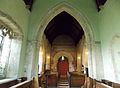 Church of St Nicholas, Carlton Scroop - nave from the chancel.jpg