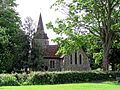 Church of the Holy Trinity, Hatfield Heath, Essex, from the southeast.jpg