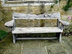 Churchill's garden seat - geograph.org.uk - 1058344.jpg