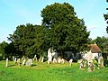 Churchyard, St Mary the Virgin, Vernham Dean - geograph.org.uk - 982579.jpg