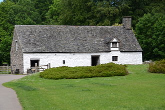 St Fagans National Museum of History - Image: Cilewent farmhouse, St Fagans