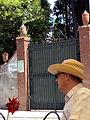 Cimiterio ebraico di pisa 2014 la porta 1.jpg