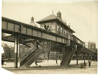 City Square station, March 1901.jpg
