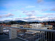 City of Coeur d'Alene, from a rooftop, 2006