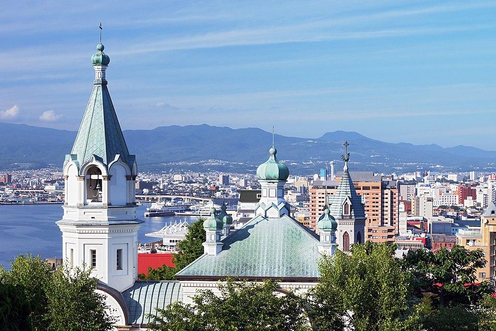Cityscapes of Hakodate Hokkaido pref Japan01n