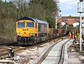 Class 66 diesel locomotive 66713 'Forest City' - geograph.org.uk - 1754235.jpg