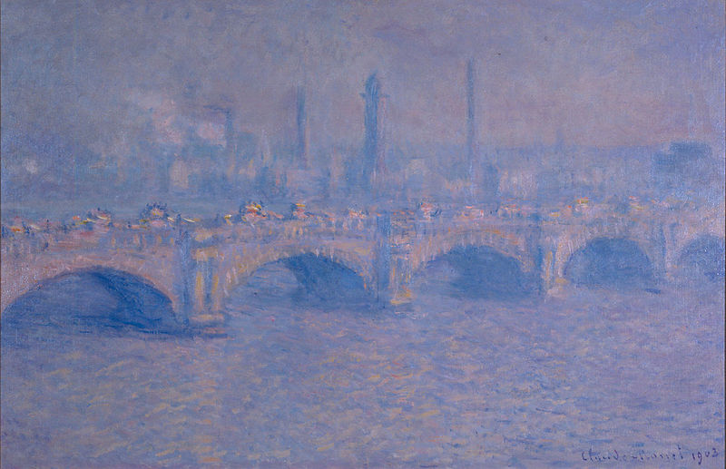 File:Claude Monet - Waterloo Bridge, Effet de Soleil.jpg
