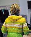 Claudia Nystad bei der Olympia-Einkleidung Erding 2014 (Martin Rulsch) 02.jpg