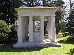 Clyde Fitch - The gravesite of Clyde Fitch