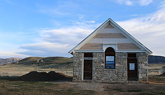 National Register of Historic Places listings in Rio Blanco County, Colorado - Image: Coal Creek School