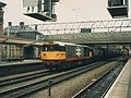 Coal train through Crewe station - geograph.org.uk - 1717707.jpg