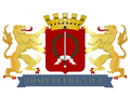 Coat of Arms Batavia Jakarta Dutch East Indies Nederlands IndIë Wapenschild Dispereert niet.png