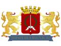 Coat of Arms Batavia Jakarta Dutch East Indies Nederlands IndIë Wapenschild Dispereert niet.png
