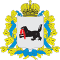 Coat of Arms of Irkutsk oblast (with crown).png