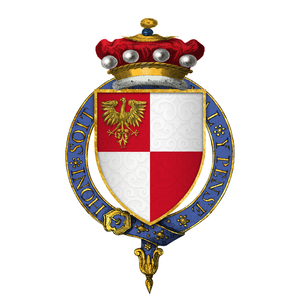 William Phelip, 6th Baron Bardolf - Arms of Sir William Phelip, Lord Bardolf, KG