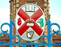 Coat of arms, Queen's University, Belfast - geograph.org.uk - 889123.jpg