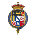 Coat of arms of Henry Jermyn, 1st Earl of St Albans, KG.png